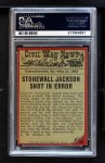 1962 Topps Civil War News #43   Costly Mistake Back Thumbnail