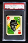 1951 Topps Blue Back #11  Johnny Groth      Front Thumbnail