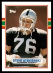 1989 Topps Traded #33 T Steve Wisniewski  Front Thumbnail