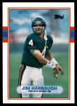 1989 Topps Traded #91 T Jim Harbaugh  Front Thumbnail