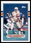 1989 Topps Traded #95 T Gary Hogeboom  Front Thumbnail