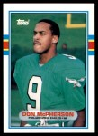 1989 Topps Traded #104 T Don McPherson  Front Thumbnail