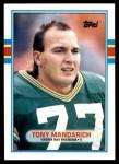 1989 Topps Traded #2 T Tony Mandarich  Front Thumbnail