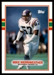1989 Topps Traded #25 T Mike Merriweather  Front Thumbnail