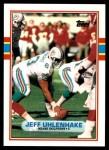 1989 Topps Traded #36 T Jeff Uhlenhake  Front Thumbnail