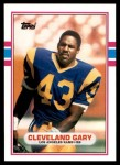 1989 Topps Traded #46 T Cleveland Gary  Front Thumbnail