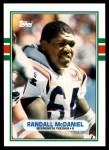 1989 Topps Traded #54 T Randall McDaniel  Front Thumbnail