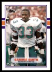 1989 Topps Traded #56 T Sammie Smith  Front Thumbnail