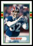 1989 Topps Traded #59 T Don Beebe  Front Thumbnail