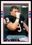 1989 Topps Traded #61 T Trace Armstrong  Front Thumbnail
