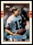 1989 Topps Traded #78 T Bryan Wagner  Front Thumbnail