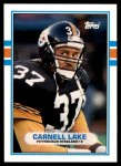 1989 Topps Traded #80 T Carnell Lake  Front Thumbnail