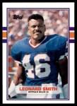 1989 Topps Traded #94 T Leonard Smith  Front Thumbnail
