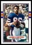 1989 Topps Traded #109 T James Lofton  Front Thumbnail