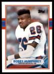 1989 Topps Traded #113 T Bobby Humphrey  Front Thumbnail