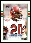 1989 Topps Traded #129 T Evan Cooper  Front Thumbnail