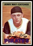 1967 Topps #379  Jerry May  Front Thumbnail