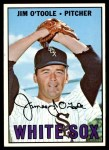 1967 Topps #467  Jim O'Toole  Front Thumbnail