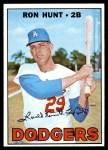 1967 Topps #525  Ron Hunt  Front Thumbnail