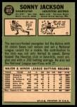 1967 Topps #415  Sonny Jackson  Back Thumbnail