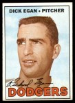 1967 Topps #539  Dick Egan  Front Thumbnail