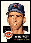 1953 Topps Archives #12  Howie Judson  Front Thumbnail
