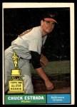 1961 Topps #395  Chuck Estrada  Front Thumbnail