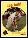 1959 Topps #347  Bob Buhl  Front Thumbnail