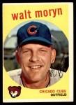 1959 Topps #488  Walt Moryn  Front Thumbnail