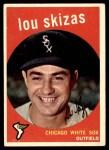 1959 Topps #328  Lou Skizas  Front Thumbnail