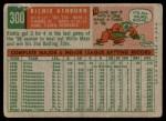 1959 Topps #300  Richie Ashburn  Back Thumbnail