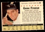1961 Post #30 COM Gene Freese   Front Thumbnail
