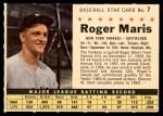 1961 Post #7 COM Roger Maris   Front Thumbnail