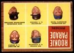 1962 Topps #592   -  Jim Bouton / Bo Belinsky / Dave Stenhouse / Dan Pfister / Joe Bonikowski Rookie Parade - Pitchers Front Thumbnail
