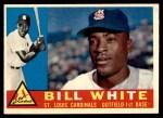 1960 Topps #355  Bill White  Front Thumbnail