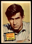 1957 Topps Hit Stars #73  Anthony Perkins  Front Thumbnail