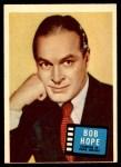 1957 Topps Hit Stars #72  Bob Hope  Front Thumbnail