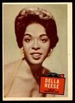 1957 Topps Hit Stars #39  Della Reese   Front Thumbnail