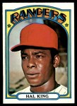 1972 Topps #598  Hal King  Front Thumbnail