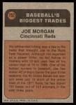 1972 Topps #752   -  Joe Morgan Traded Back Thumbnail