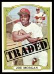 1972 Topps #752   -  Joe Morgan Traded Front Thumbnail
