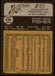 1973 Topps #439  Eddie Fisher  Back Thumbnail