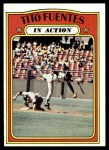 1972 Topps #428   -  Tito Fuentes In Action Front Thumbnail