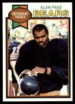 1979 Topps #15  Alan Page  Front Thumbnail