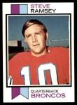 1973 Topps #189  Steve Ramsey  Front Thumbnail