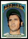 1972 Topps #458  Aurelio Monteagudo  Front Thumbnail