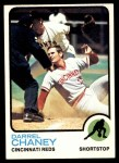 1973 Topps #507  Darrel Chaney  Front Thumbnail