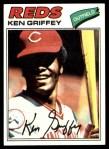 1977 Topps #320  Ken Griffey  Front Thumbnail