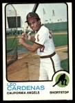 1973 Topps #522  Leo 'Chico' Cardenas  Front Thumbnail