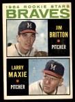 1964 Topps #94   -  Larry Maxie / Jim Britton Braves Rookies Front Thumbnail